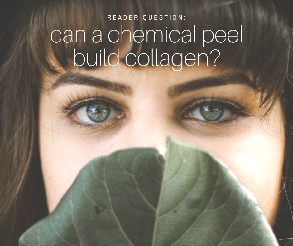 Do chemical peels build collagen? Dr. Irwin answers on SkinTour.com , a dermatologist's skin care blog