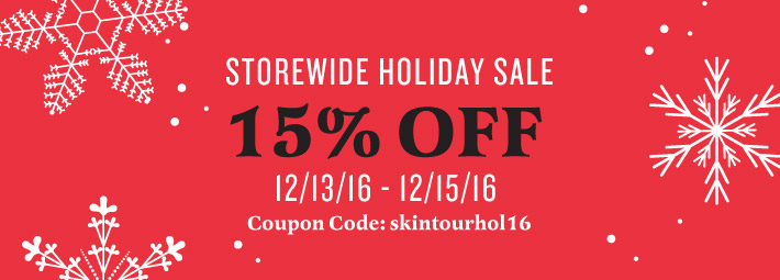 storewide sale on SkinTour store