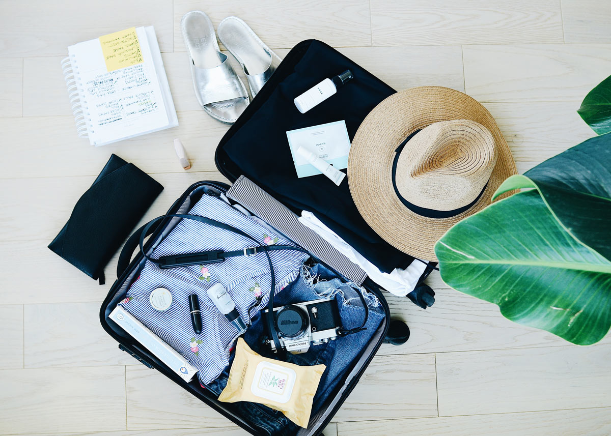 Travel skin care essentials - Dr. Brandith Irwin's picks on Skintour skincare blog