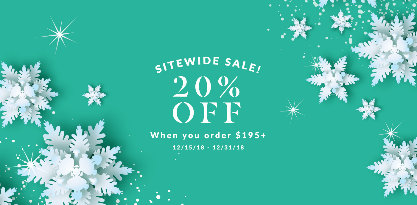 20% off the SkinTour shop when you spend over $195!